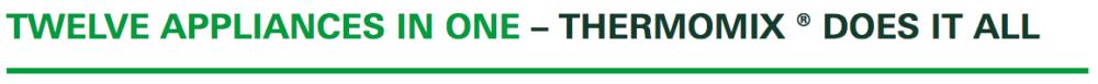 12 aplicances Thermomix Thailand