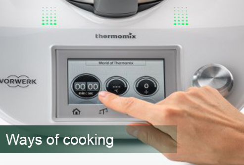 thermomix TM5  ways to cooking